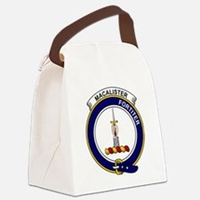 MacAlister Clan Badge Canvas Lunch Bag