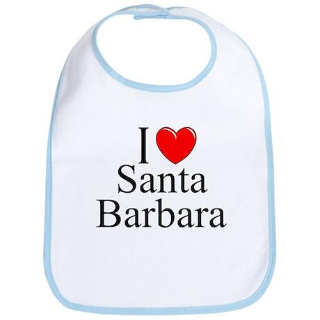 """""""I Love Santa Barbara"""" Bib"""