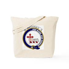 MacDonald (of Sleat) Clan Badge Tote Bag