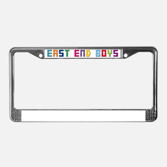 EastEndBoy License Plate Frame
