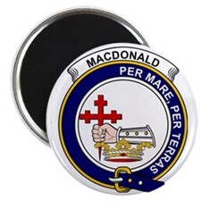 MacDonald (Clan Donald) Clan Badge Magnet