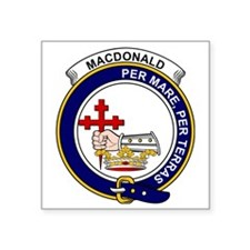 "MacDonald (Clan Donald) Cla Square Sticker 3"" x 3"""