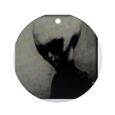 8alien Round Ornament