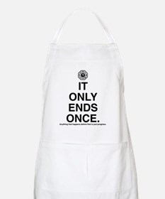 itonlyendsonce-light Apron