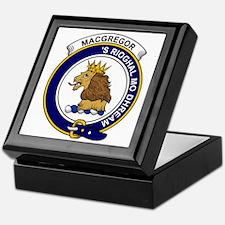 MacGregor Clan Badge Keepsake Box