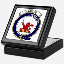 MacDuff Clan Badge Keepsake Box