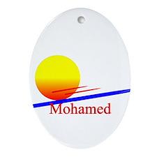 Mohamed Oval Ornament