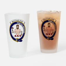 MacFarlane Clan Badge Drinking Glass