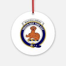MacGillivray Clan Badge Round Ornament