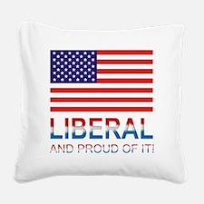 Liberalproud Square Canvas Pillow