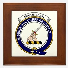 MacMillan Clan Badge Framed Tile