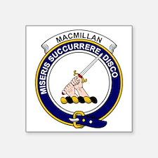 "MacMillan Clan Badge Square Sticker 3"" x 3"""
