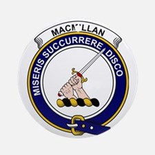 MacMillan Clan Badge Round Ornament