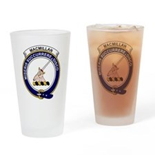 MacMillan Clan Badge Drinking Glass