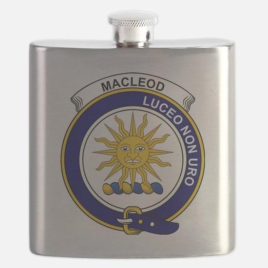 MacLeod (of Lewis) Clan Badge Flask