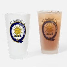 MacLeod (of Lewis) Clan Badge Drinking Glass