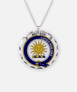MacLeod (of Lewis) Clan Badg Necklace