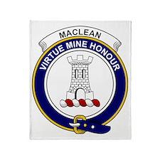 MacLean Clan Badge Throw Blanket