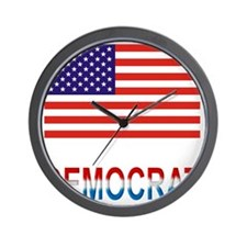 Democrat Wall Clock
