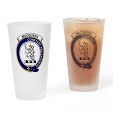 MacQueen Clan Badge Drinking Glass