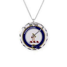 MacRae Clan Badge Necklace