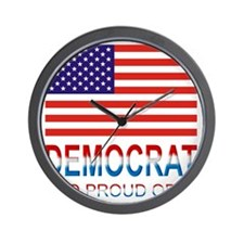 Democratproud Wall Clock