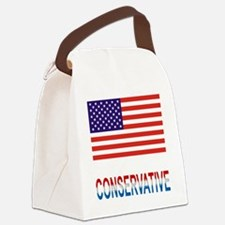 Conservative Canvas Lunch Bag