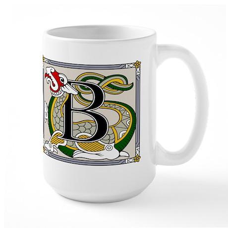 Celtic Dragon Art B Large Mug