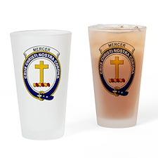 Mercer Clan Badge Drinking Glass