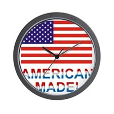 Americanmade2 Wall Clock