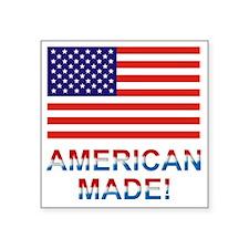 """Americanmade2 Square Sticker 3"""" x 3"""""""