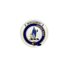 Montgomery Clan Badge Mini Button