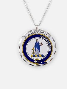 Montgomery Clan Badge Necklace