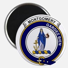 Montgomery Clan Badge Magnet