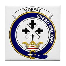 Moffat Clan Badge Tile Coaster