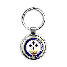 Moffat Clan Badge Round Keychain