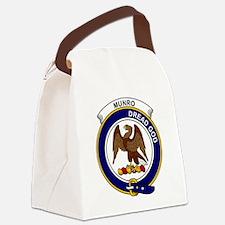 Munro Clan Badge Canvas Lunch Bag