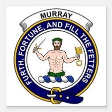 """Murray (of Athole) Clan  Square Car Magnet 3"""" x 3"""""""