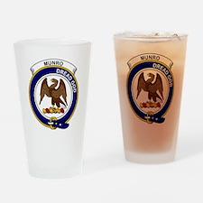 Munro Clan Badge Drinking Glass