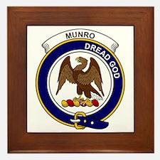 Munro Clan Badge Framed Tile