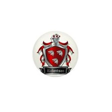 ROBERTSON COAT OF ARMS Mini Button