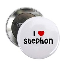 """I * Stephon 2.25"""" Button (10 pack)"""
