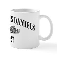 jdaniels dlg black letters Mug