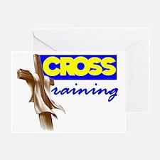 Cross Training 2 Greeting Card