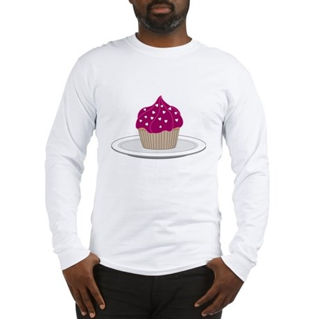 BakeRunCupCake6b Long Sleeve T-Shirt