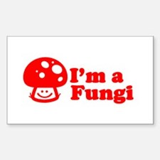I'm a Fungi Rectangle Decal