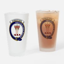 Robertson Clan Badge Drinking Glass