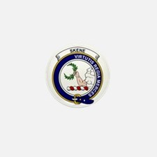 Skene Clan Badge Mini Button