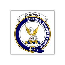 """Stewart (High Stewards) Cla Square Sticker 3"""" x 3"""""""