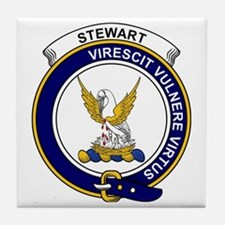 Stewart (High Stewards) Clan Badge Tile Coaster
